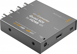 Mini Converter - Quad SDI to HDMI 4K 2  (CONVMBSQUH4K2)