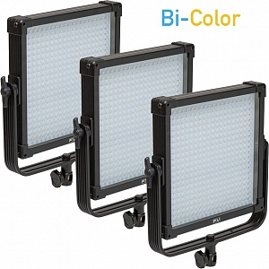 K4000S SE BI-COLOR 1X1 LED STUDIO PANEL 3-LIGHT KIT